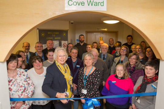 Patients treated closer to home at new mental health ward