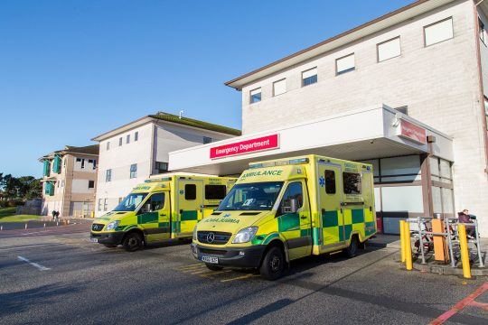 Increased planned care, fewer hospital admissions