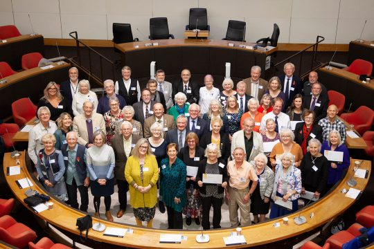 Cornwall's inspiring 60 over 60 shine at celebratory event